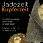 Plakat zur Ausstellung Jadezeit - Kupferzeit
