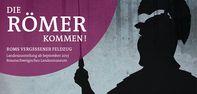 Plakat zur Ausstellung Roms vergessener Feldzug